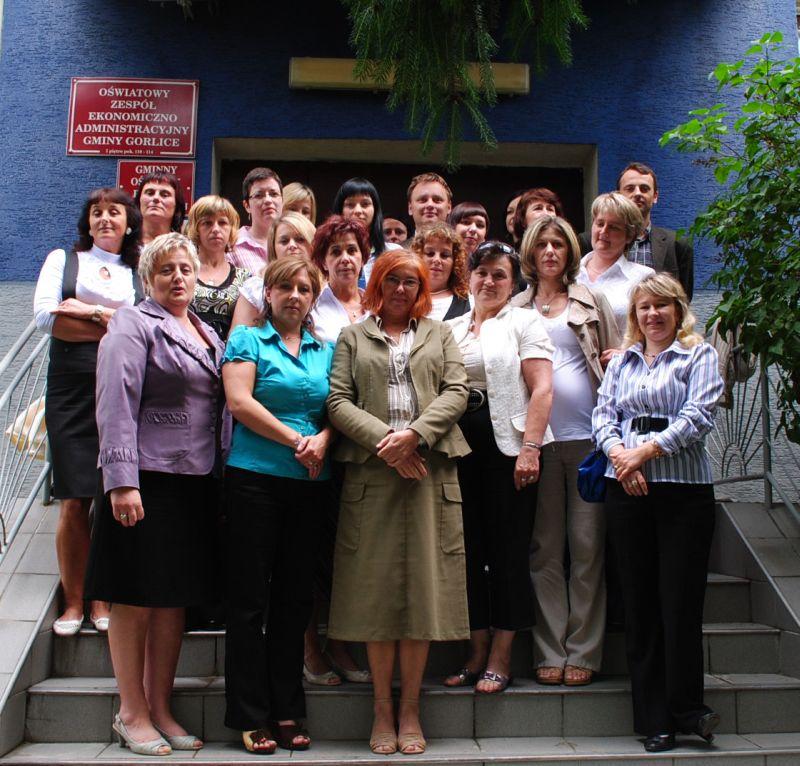 Pracownicy GOPS w Gorlicach