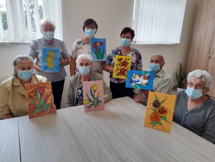 zdjęcie z zajęć Klubu Seniora